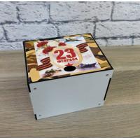 П-005 Коробка под кружку белая 14X11,5X10,5