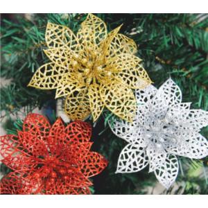 Рождественский цветок блестящий