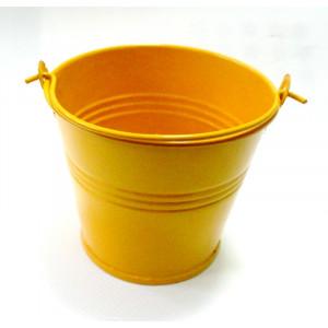 КШ-42012 Ведерко металлическое желтое