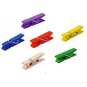 ДЭ-29005 Прищепка декоративная цветная