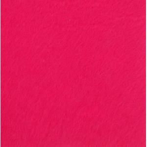 ФФ-02024 Фетр декоративный 40х45 см, цвет ярко розовый, 1 лист