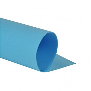 Ф-03017 Фоамиран 48х48, цвет голубой, 1 лист