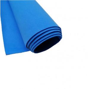 Ф-03018 Фоамиран 48х48, цвет синий, 1 лист