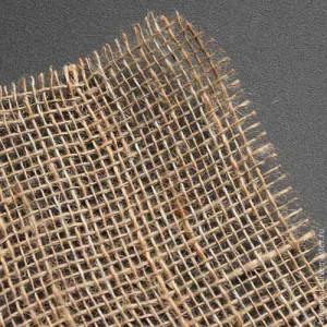 МШ-36002 Мешковина льняная, натуральная - разреженная