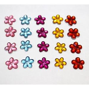 СБ-28019 Стразы  цветы  1см