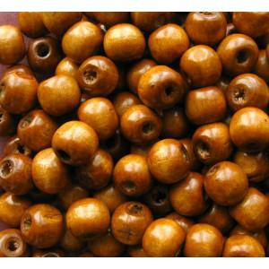 СБ-28016 Бусина деревянная Цвет коричневый. Упаковка 50шт.