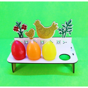 И-ПП-004 Пасхальная подставка для яиц.