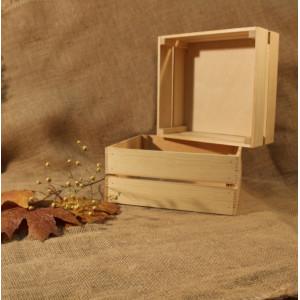 И-ЯЩ-008 Ящик деревянный без ручки 23х24х10 см