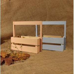 И-ЯЩ-010 Ящик деревянный окрашенный 25х11х23 см