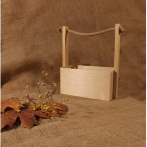 И-ЯЩ-011 Ящик деревянный ручка шпагат 25х11х23 см