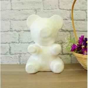 ПЕ-01035 Медведь из пенопласта h=35 см