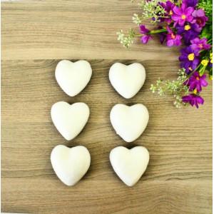 ПЕ-01025 Сердце из пенопласта h=6, 6 шт/уп