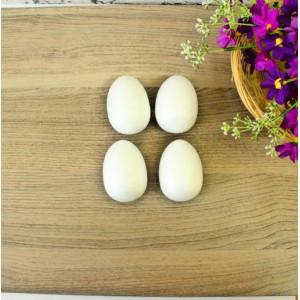 ПЕ-01034 Яйцо из пенопласта, h=7 см, 4 шт/уп